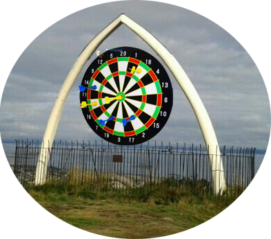 North Berwick Whale bone darts